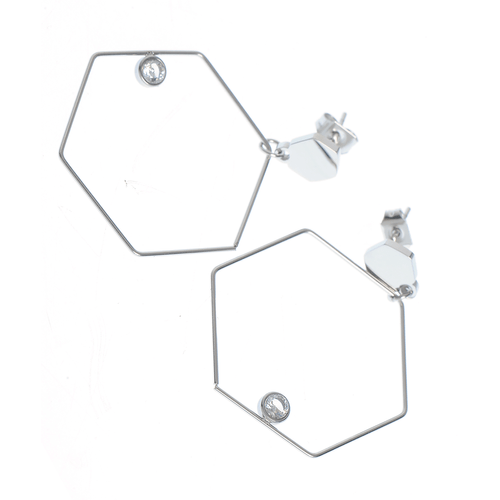 Cercei otel forme hexagonale