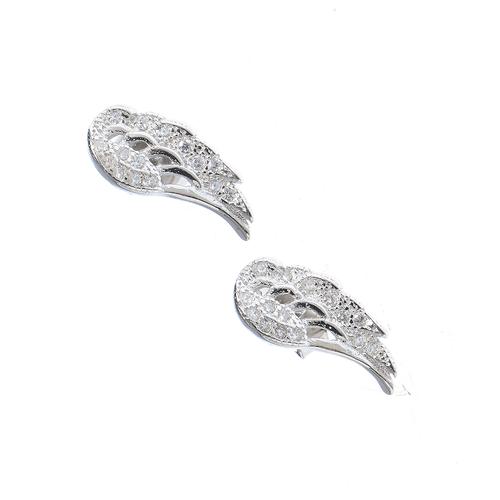Cercei argint aripi de inger