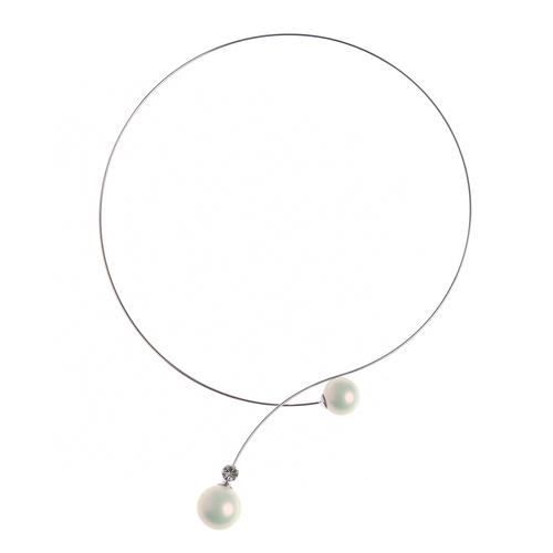Colier elegant cu perle poza 2021