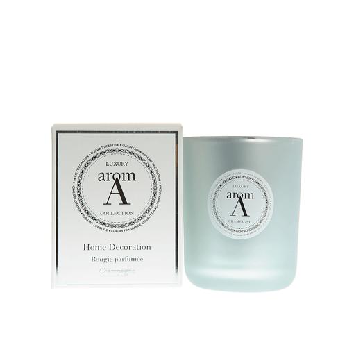 Lumanare LUXURY, parfum sampanie