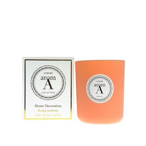 Lumanare LUXURY, parfum portocale