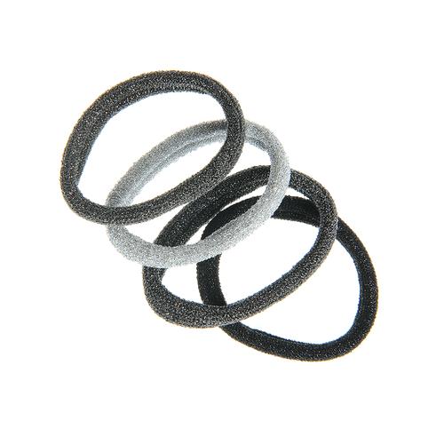 Set 4 elastice par cu sclipici poza 2021