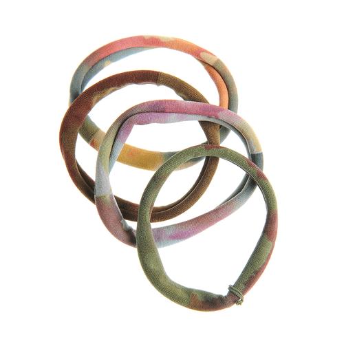 Set 4 elastice par multicolore poza 2021