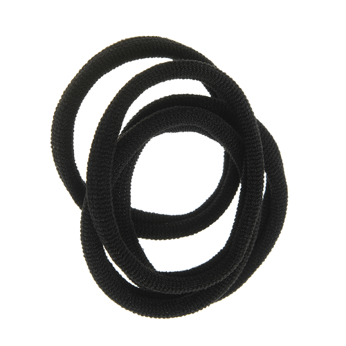 Set 4 elastice negre subtiri poza 2021