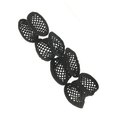 Set 4 elastice negre din plasa poza 2021