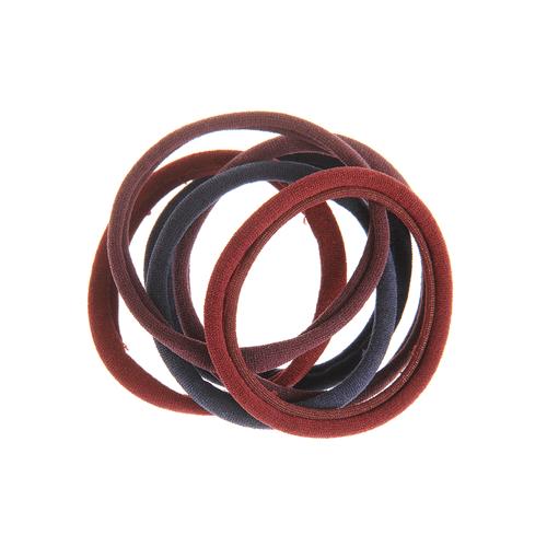 Set 6 elastice simple pentru par poza 2021