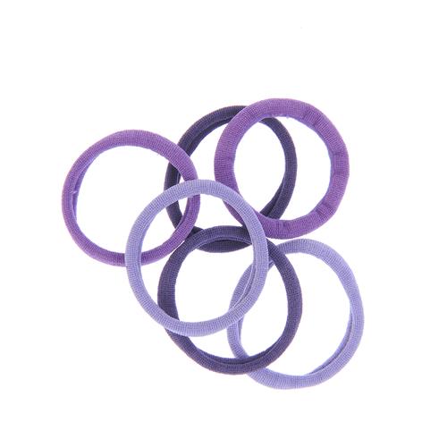 Set 6 elastice par nuante mov poza 2021