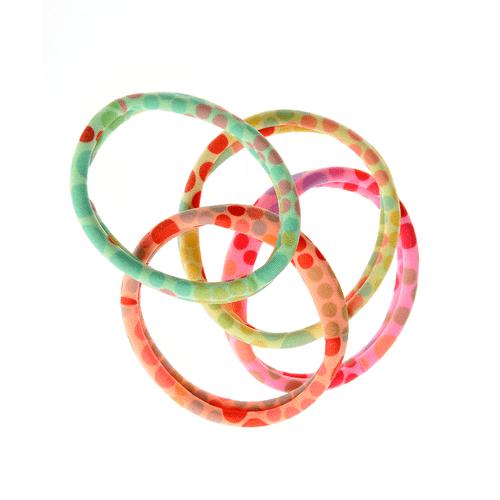 Set 4 elastice cu buline poza 2021
