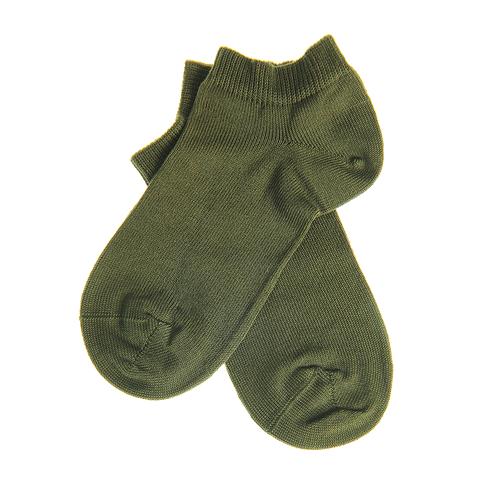 Sosete scurte verde kaki pentru copii poza 2021