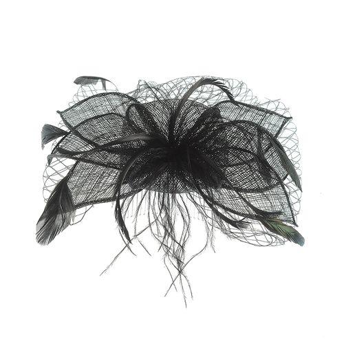 Agrafa- pieptan floare neagra poza 2021