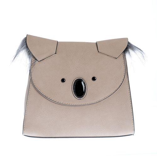 Rucsac cu design urs stilizat