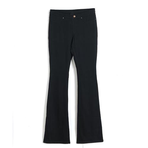 Pantaloni elastici negri poza 2021