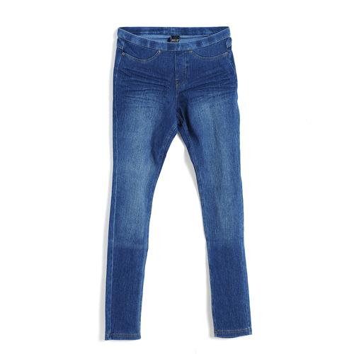 Pantaloni elastici din denim XS poza 2021