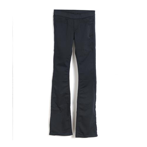 Pantaloni negri talie elastica poza 2021