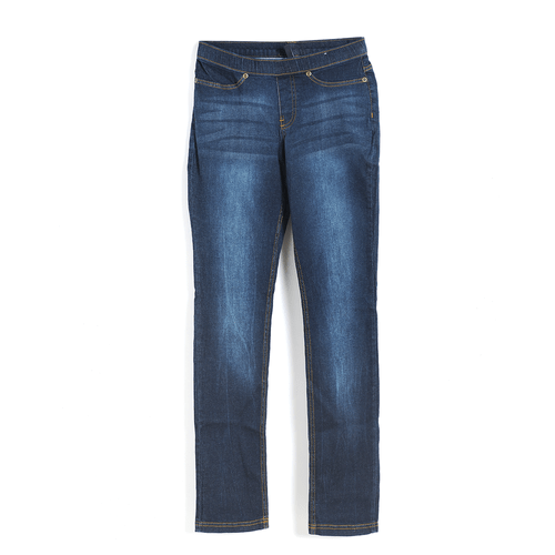 Pantaloni bleumarin din denim poza 2021