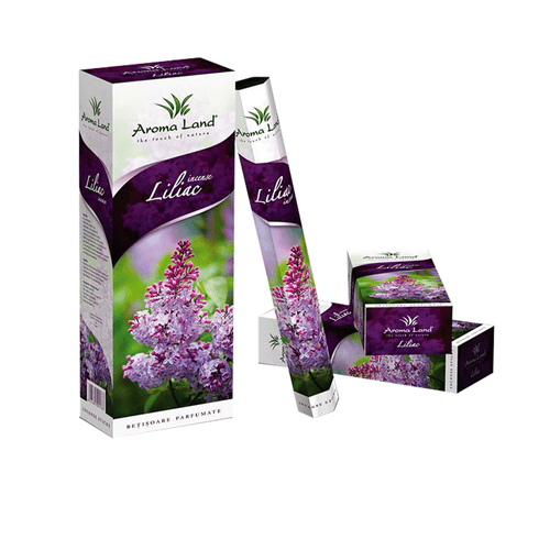 Betisoare parfumate liliac poza 2021
