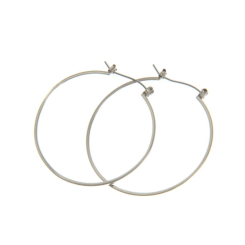 încălţăminte cumpărare ieftin cumpărători de vânzări Cercei simpli argintii - Meli Melo Paris