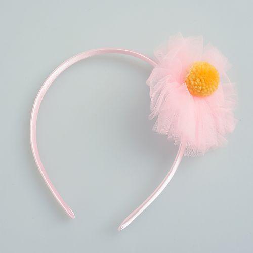 Bentita pentru fetite cu floare roz poza 2021