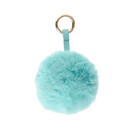 Bijuterie pentru geanta puf bleu poza 2021