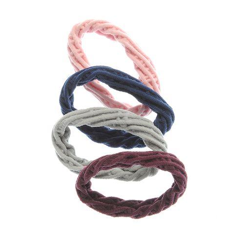 Set 4 elastice plasa colorate poza 2021