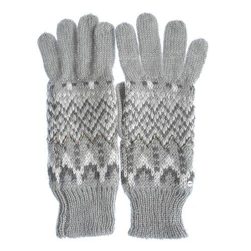 Manusi tricotate, model zigzag poza 2021