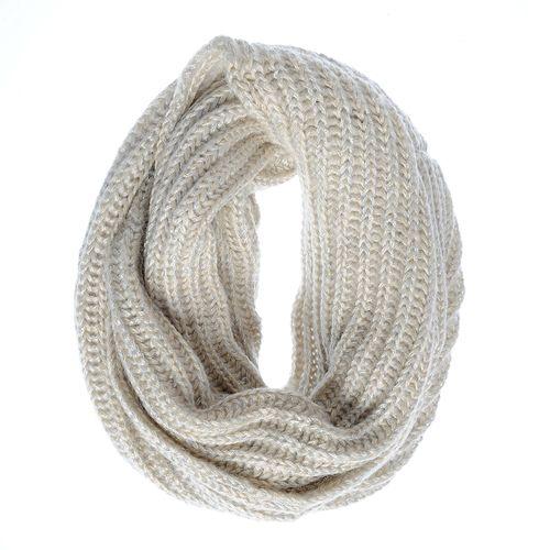 Fular tricotat cu fir argintiu poza 2021