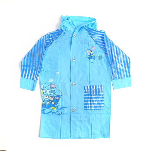 Pelerina albastra de ploaie XL poza 2021