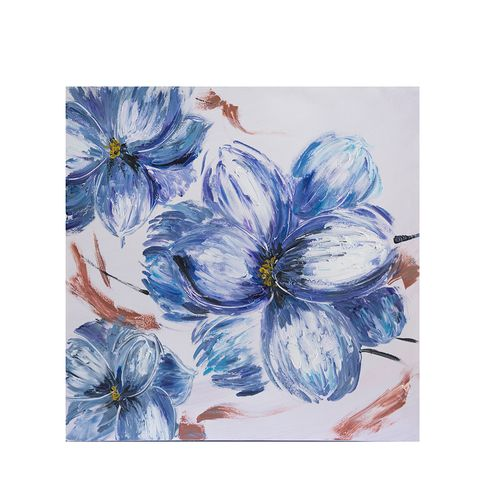 Tablou cu flori albastre poza 2021