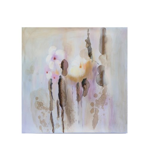 Tablou floral nuante calde
