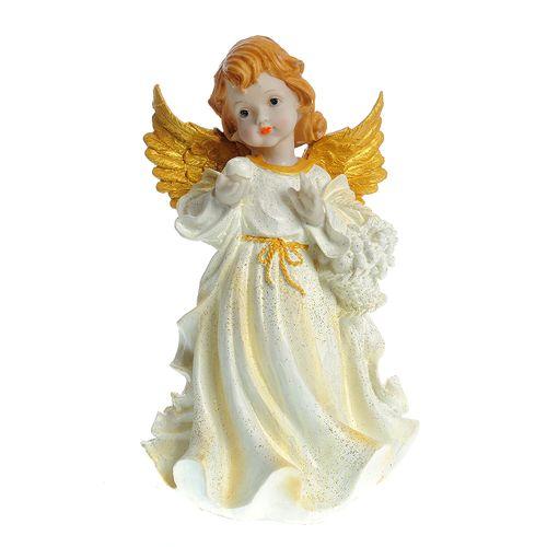 Statueta inger cu aripi aurii