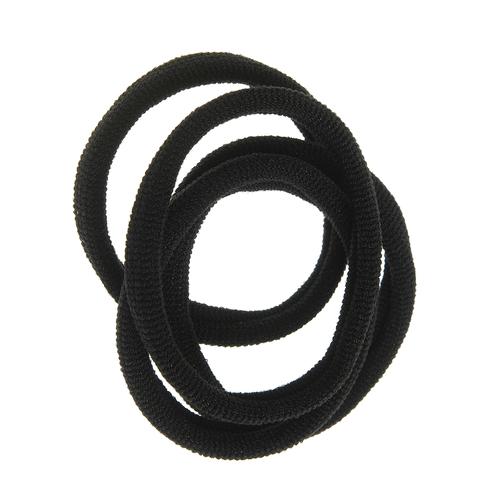 Set 4 elastice subtiri negre poza 2021
