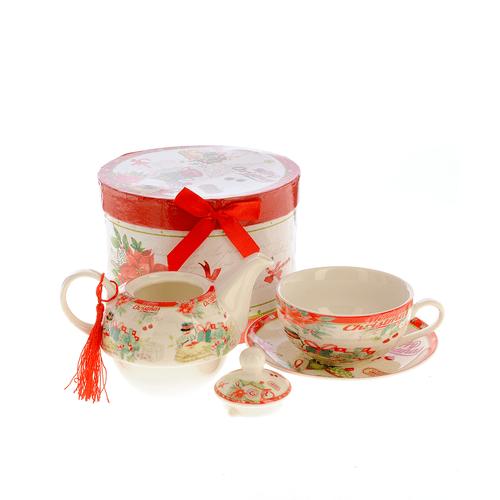 Ceainic Tea for One, model Craciun