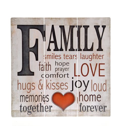 Tablou cu mesaj FAMILY poza 2021