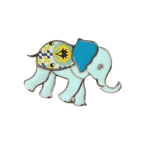 Brosa elefant bleu poza 2021