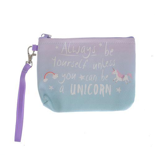 Portfard unicorn cu mesaj poza 2021
