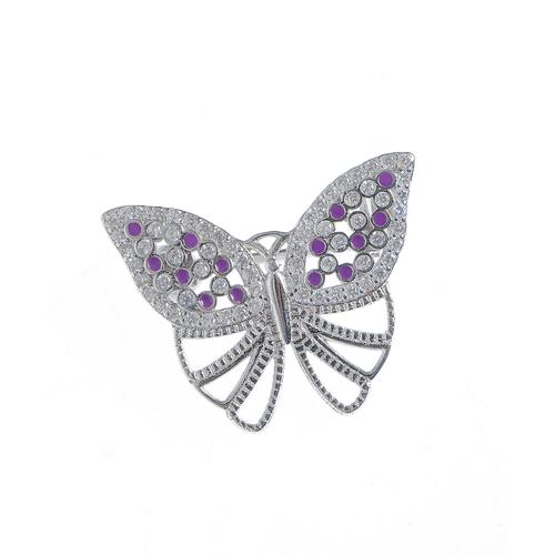 Brosa argint fluture poza 2021