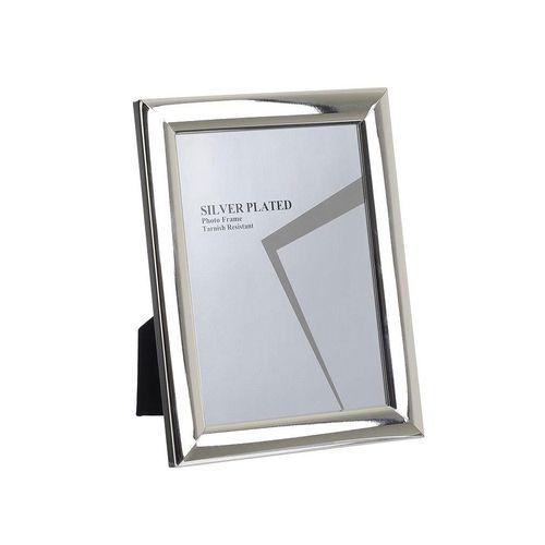 Rama foto dreptunghiulara argintie image0