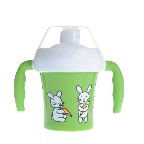 Canita verde bebe fara BPA poza 2021