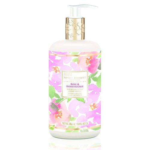 Sapun lichid aroma florala poza 2021