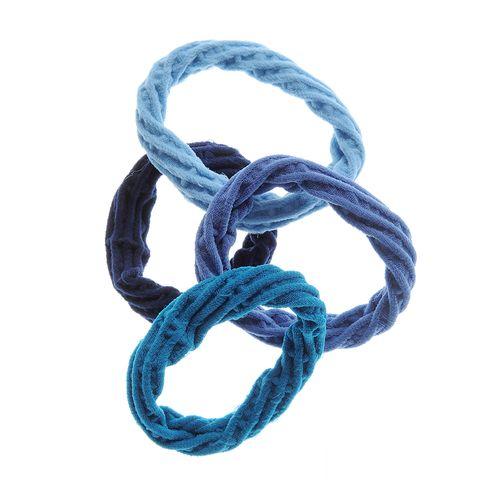 Set 4 elastice albastre plasa poza 2021