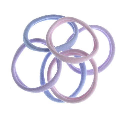 Set 6 elastice simple lila poza 2021