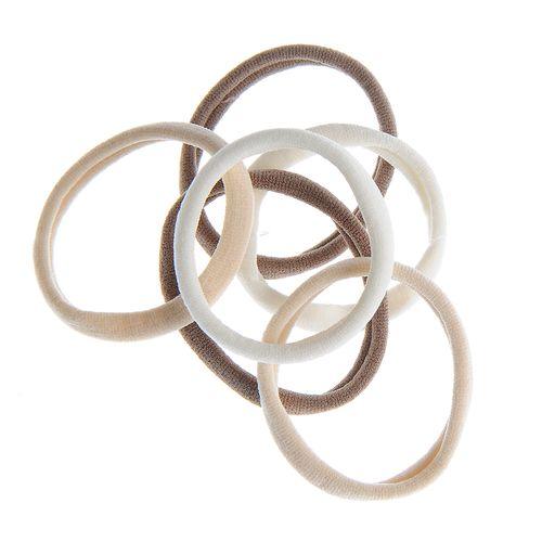 Set 6 elastice simple bej poza 2021
