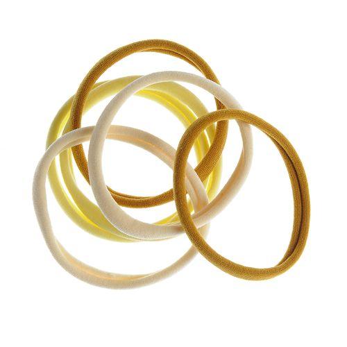 Set 6 elastice in culori deschise poza 2021