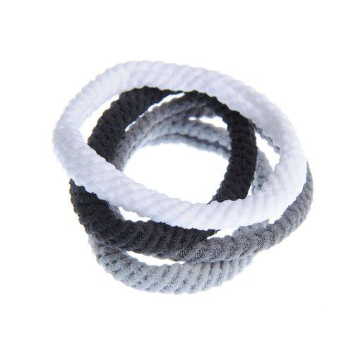 Set 4 elastice impletite pentru par poza 2021