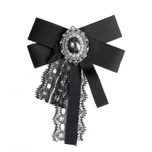 Brosa cravata cu funda neagra poza 2021