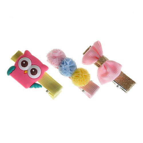 Set 3 accesorii par colorate poza 2021