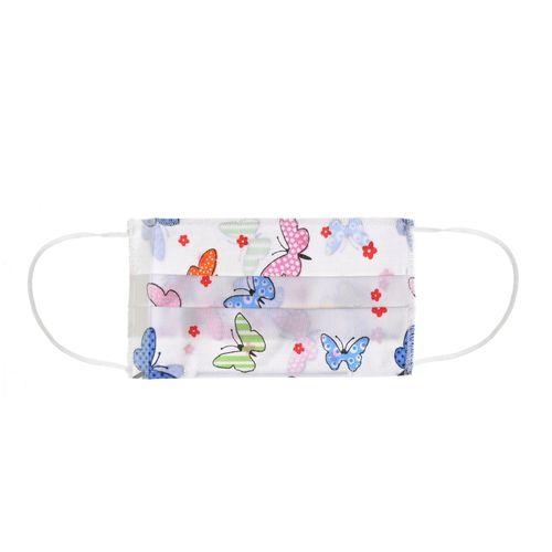 Masca textila cu fluturi pentru copii poza 2021
