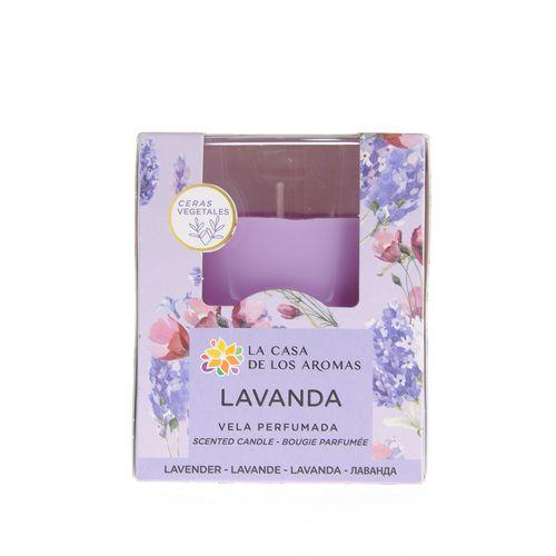 Lumanare parfumata lavanda - Lumanare pahar lavanda poza 2021