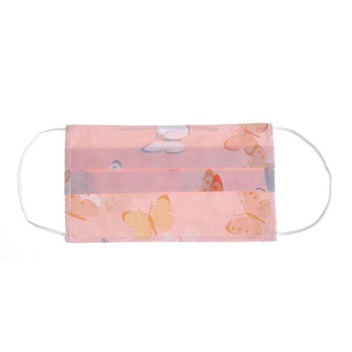 Masca textila roz cu fluturi poza 2021