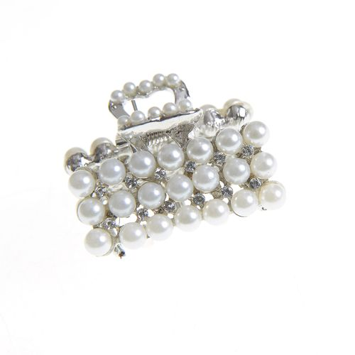 Cleste argintiu cu perle acrilice poza 2021